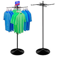 T Shirt Display Stand TShirt Racks Floor Display Racks Stock Retail Displays 12