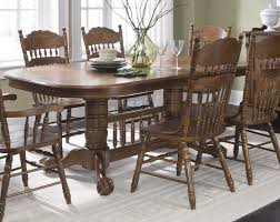 Oak Dining Room Sets - Amish oak dining room furniture
