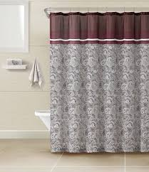 burgundy shower curtain sets. chocolate and burgundy paisley 3 piece bathroom set: fabric shower curtain with 2 matching cotton sets