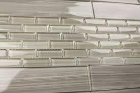 tile bath gainsboro gray subway glass kitchen bathroom