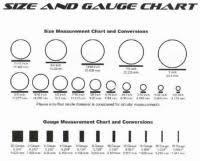 Mm Earring Chart Earring Gauges In Mm Earrings Gauge Size Guide