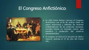 Resultado de imagen para congreso anfictionico de panama