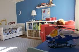 Little Boy Bedroom Furniture Alluring Little Boys Bedroom Design With Red Solid Plastic Car