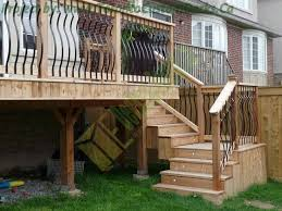 Toronto deck and stairs
