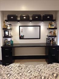 office desk cabinets. a diy desk from an old closet door to incorporate shelves boxes and filing cabinets complete the look another option for my client his office