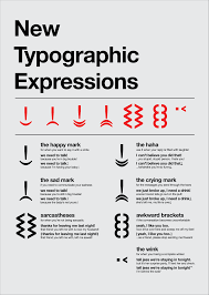 new expressive typographic characters for digital communication new expressive typographic characters for digital communication