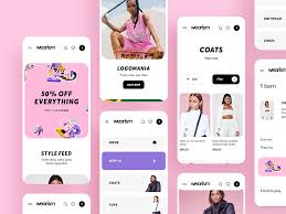 Clothing Design App Shop Womens Clothing App Design By Cuberto On Dribbble