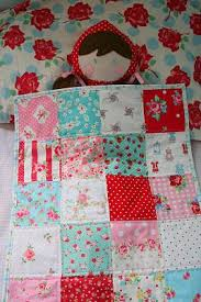 Best 25+ Doll quilt ideas on Pinterest | DIY doll quilt, Mini ... & lovely little handmades: simple patchwork dolls quilt. Use this design for  CM's doll quilt Adamdwight.com