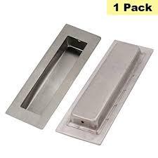 flush drawer pulls. Modren Pulls 1 Pack Flush Pull Handles Rcetangular Concealed Cabinet Pulls  Peaha MC004  Stainless Steel Modern Closet Intended Drawer E