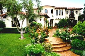 Small Picture Frontyard Garden Design Front Of House Classic Spanish Style Homes