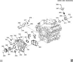 engine oil system diagram for 2003 cadillac cts engine description 030924gm00 389 engine oil system diagram for cadillac cts