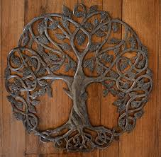 tree of life wall art metal