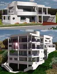 Unique Ultra Modern Home Design  Custom and Stock House Plans by        ultra modern house plans