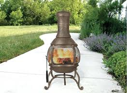 large clay chiminea outdoor fireplace corona review mexican