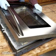 glass repair oven