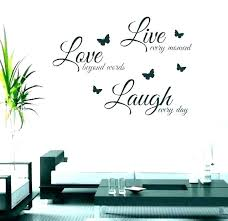 home decor sayings for walls wall words metal with art live laugh home decor sayings family wall