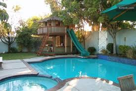 Backyard Designs With Pool Decoration