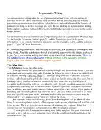 ideas for argument essay good argumentative essay examples high school argumentative essay