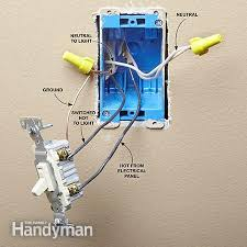 fluorescent dimming switch wiring wiring diagram and ebooks • install a cfl or led bulb dimmer switch the family handyman rh 2 familyhandyman com dimming switch styles split dimming switch