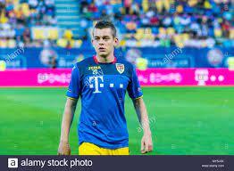 Juni 5, 2018: Alexandru Cicaldau Nr. 20 (Rumänien) während der  internationalen Freundschaftsspiel - Rumänien gegen Finnland am Ilie Oana  Stadion in Ploiesti, Rumänien ROU. Copyright: Cronos/Catalin Soare  Stockfotografie - Alamy