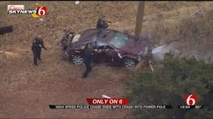 Police Pursuit Throughout OKC Metro Ends In Crash - News On 6