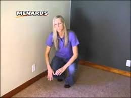 Menard s Around The House Carpet Install