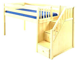 Bunk bed with stairs and slide Cool Toddler Loft Bed With Stairs Bunk Bed With Slide Loft Bed Stairs Only Castle Bunk Bed Ana White Toddler Loft Bed With Stairs Large Size Of Bedroom Twin Bunk Bed