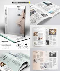 free magazine layout template magazine templates with creative print layout designs