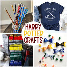 20 magical harry potter crafts