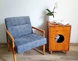 Image Bench Image Etsy Cat Litter Box Cover Pet Furniture Cat House Modern Litter Etsy