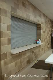 Paint Cinder Block Wall How To Paint A Concrete Wall To Look Like Stone Beyond The