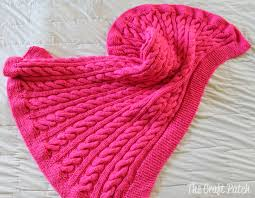 Cable Knit Blanket Pattern Custom Decorating Design