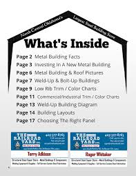 Central States Metal Roofing Color Chart Metalbuildings Magazine Pages 1 20 Text Version Anyflip