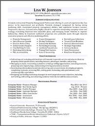 It Manager Resume Sample Property Manager Resume Sample Project