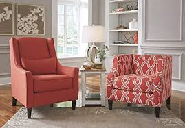 coral accent chair. Modren Accent Accent Chair In Coral And