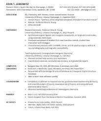Entry Level Chemist Resume Sample will give ideas and provide as references  your own blank resume format template. There are so many kinds inside the  web of