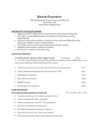 self starter resume