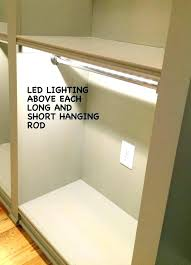 how to install closet rod hanging rod how to hang a closet rod ides double hang