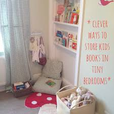 mamasvib v i bookclub clever ways to kids books for tiny bedrooms