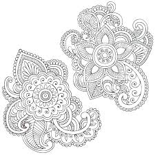 Mandala Flower Coloring Pages Difficult Difficult Printable Coloring