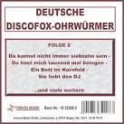 Deutsche Discofox-Ohrwürmer, Folge 2