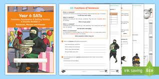 Grammar Punctuation Year 6 Sats Survival Grammar Punctuation Spelling