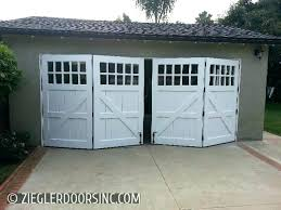 folding garage doors. Perfect Folding Horizontal Bifold Garage Door Carriage In A Bi Fold  Configuration East Side Mesa   Throughout Folding Garage Doors