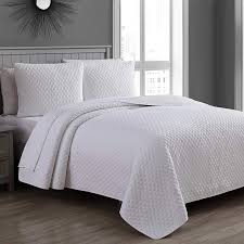 37 10 estate brand fenwick bright white pattern cotton quilt bedding set king size 131903 njrumrfsd