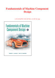 Juvinall Machine Design Pdf Ebook Pdf Fundamentals Of Machine Component Design Full Page