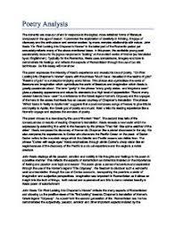 english poetry analysis essay poetry analysis examples academichelp net