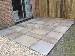 square patio designs. Interesting Square Small Square Patio In A Back Garden Throughout Square Patio Designs I