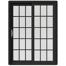 jeld wen 59 25 in x 79 5 in simulated divided light left hand