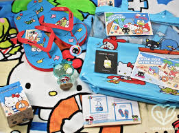 summer 2017 sanrio small gift crate review