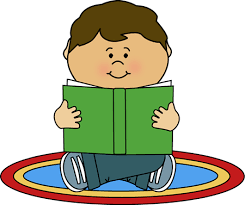 carpet time clipart. kid reading on a rug clip art image carpet time clipart r